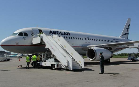 самолеты aegean airlines