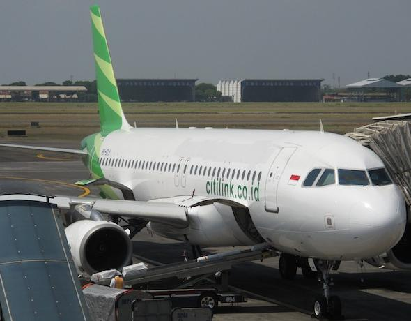 Самолет Citilink