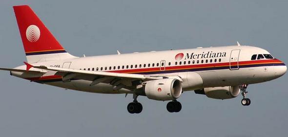 самолет meridiana