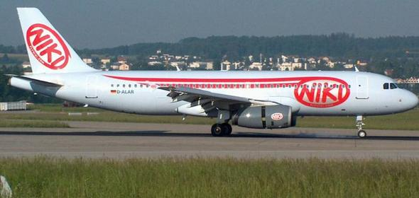 самолет авиакомпании Niki