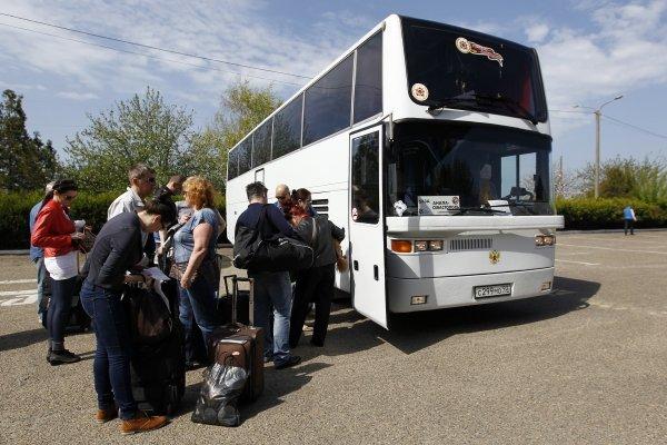 В Симферополь на автобусе