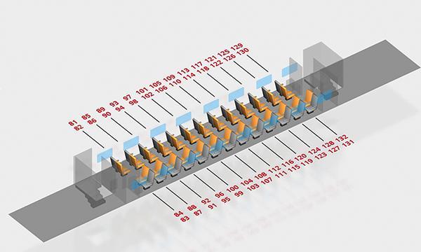 Схема вагона двухэтажного