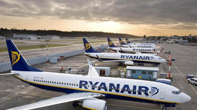 Распродажа Ryanair