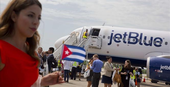 Лоукостер JetBlue открыл полеты из США на Кубу