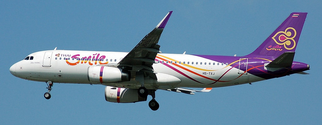 Авиакомпания Thai Smile Airways